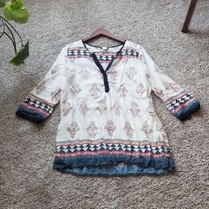 lucky brand size large blouse